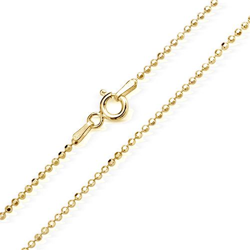 14KT Yellow Gold Bead Chain