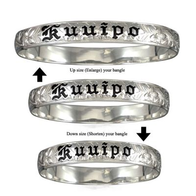 Resizing Sterling Silver Bangle Service
