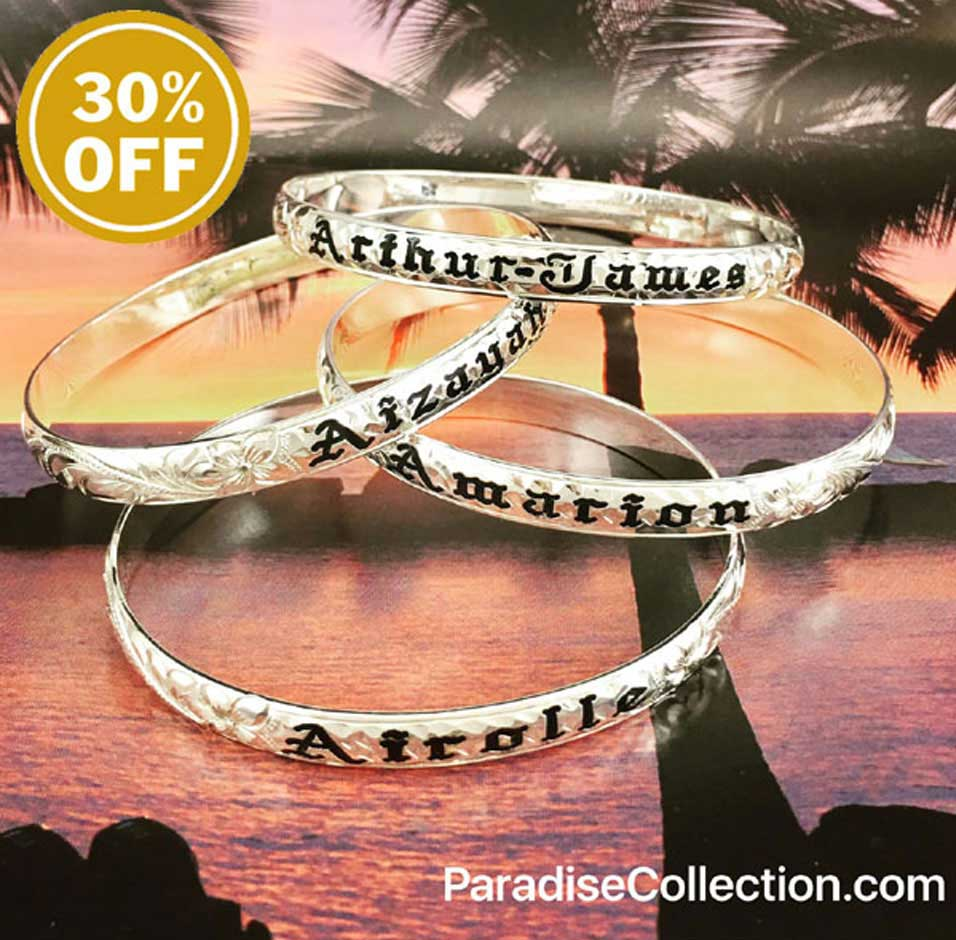 Silver Hawaiian Heirloom Jewelry